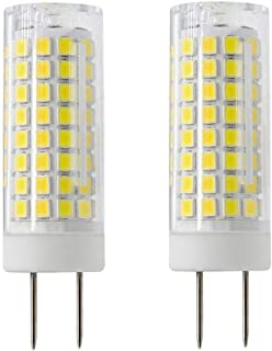 All New G8 LED Bulb, LED G8 Bulb Dimmable, G8/GY8.6 Bi-pin Base Light Bulb, 7W G8 Bulb, 75W Halogen Bulb Replacement, 730LM, AC120V, CRI> 85, for Under Cabinet Counter, 2-Pack (Daylight White)