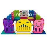 Cannons es 16 x lados pequeños parque infantil + elemento grande con integrados (con 12 esteras de juego)