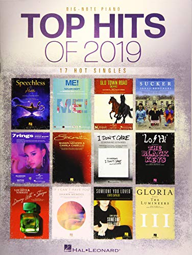 Top Hits of 2019 (Big Note Songbook)