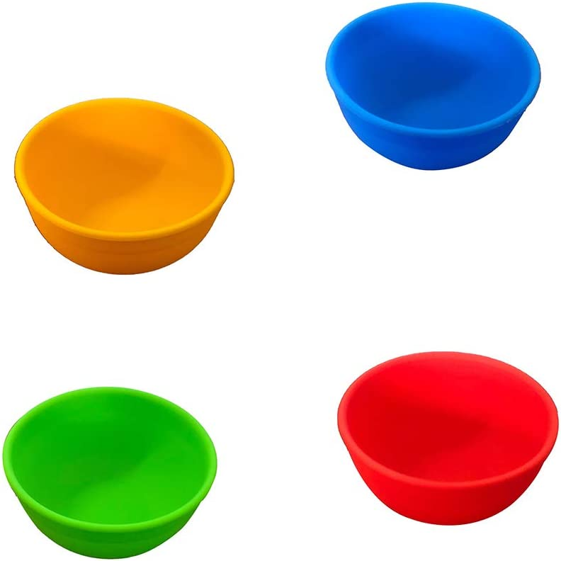 GBSTORE 4 Pcs Silicone Mixing Bowl Prep OFFicial shop for Serve Mixi Bowls Max 69% OFF and