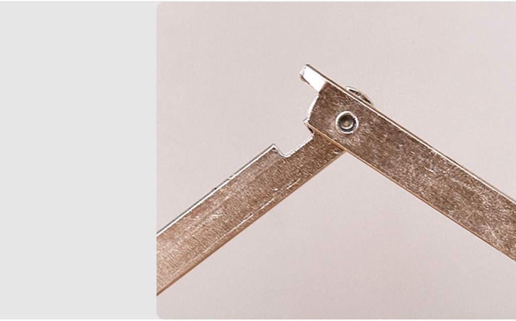 Le Tabouret Pliant de Tabouret Pliant d'intérieur et extérieur Peut être Facilement et Facilement transporté HUYP (Color : Brown) Natural