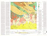 Historic Pictoric Map : Geologic map of The Ponce Quadrangle, Puerto Rico, 1975 Cartography Wall Art : 24in x 18in