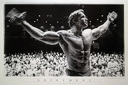 Close_up Arnold Schwarzenegger: Mr. Olympia 1974 | US Import Filmplakat, Poster [61 x 91,5 cm]