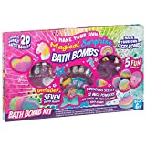 EEMKAY® New Make Your Own 20 Surprise Scented Magical Bath Bombs Mix & Mold Your Own Fun Xmas Gift...