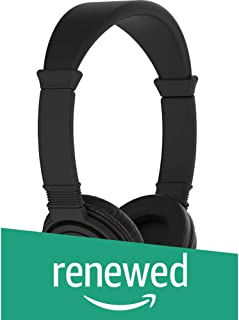 (Renewed) C300SI On-Ear Dynamic Wired Headphones (Black)