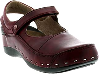 Wolky Womens 6015 6015 Strap Cloggy