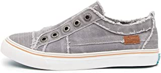 BLOWFISH Play Navy Jester Linen Womens Sneakers Casuals Shoes