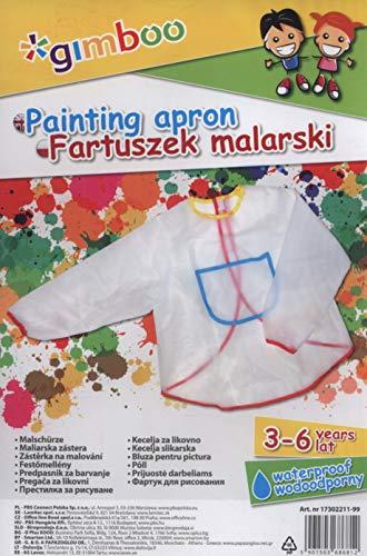 Fartuszek malarski, rozmiar 3-6 lat,mix kolorów