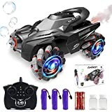 Remote Control Car for Kids, AHIROT Stunt RC Cars 4WD 1:12 Drift Toy with Rear...
