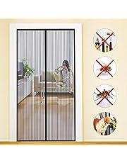 MYCARBON Mosquitera Puerta Magnetica Corredera Cortina Mosquitera Magnética para Puertas Cortina de Sala de Estar la Puerta del Balcón Puerta Corredera de Patio (90*210cm)