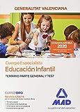 Cuerpo Especialista en Educación Infantil de la Administración de la Generalitat Valenciana. Temario y test parte general