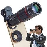 Apexel Phone Camera Lens,18X Optical Camera Mobile Zoom Lens Manual Telescope Lens