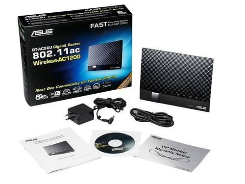 ASUS AC1200 5th Gen Dual-Band Wireless RT-AC56U Gigabit Router