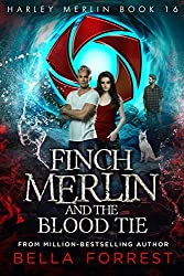 Cover of Harley Merlin 16: Finch Merlin and the Blood Tie