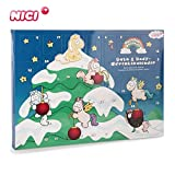 NICI Wellness Adventskalender Einhorn Theodor and Friends – Bade- und Pflegeprodukte...