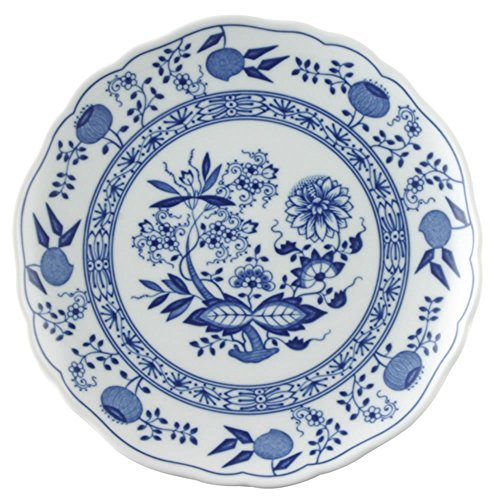 Hutschenreuther 02001-720002-10220 Zwiebelmuster Frühstücksteller, 20 cm Coup, blau