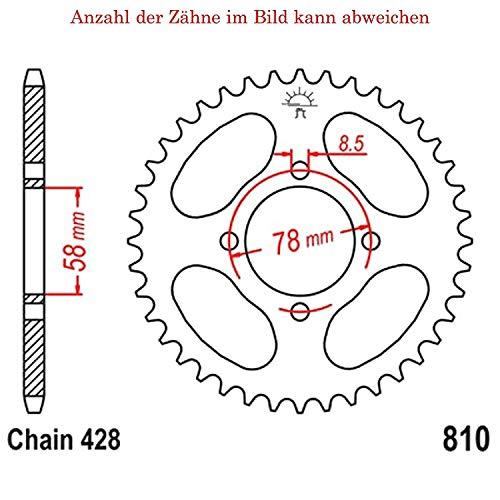 JT sprockets Kettensatz FZ1 1000 N 2006-2015 X1R 530
