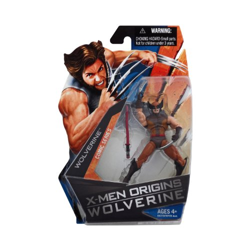 X-Men Origins Wolverine - Comic Book Series - Wolverine Action Figure Brown Suit