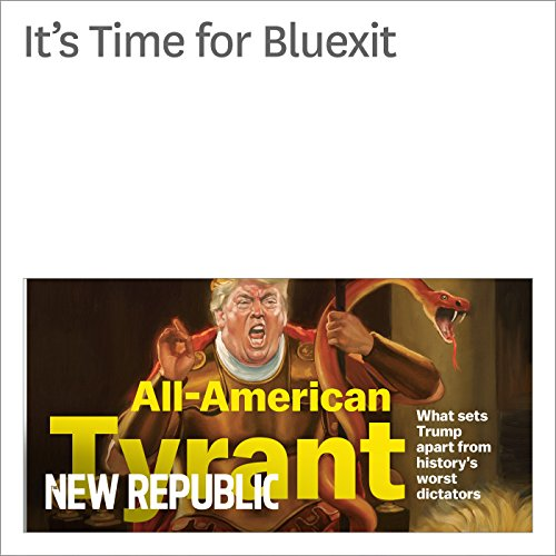 Bluexit audiobook cover art