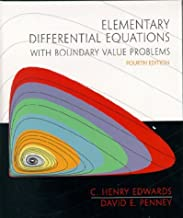 Elementary Differential Equations with Boundary Value Problems (4th Edition) [9/29/1999] C. H. Edwards