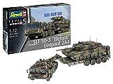 Revell 03311Maquette de Chars Militaires à Construire SLT 50-3' Elephant & Leopard 2A4, échelle 1/72, Camouflage