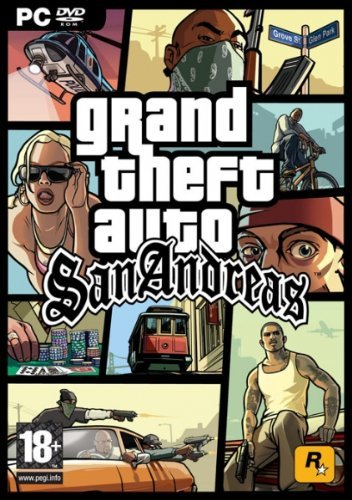 Grand Theft Auto: San Andreas - Limited Edition (PC DVD) by Rockstar