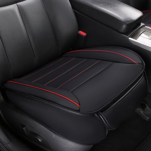 Breathable Auto Seat Protector 1 Pack Front Seat Cover Without Backrest Car Interior Auto Supplies - HONCENMAX Car Seat Cover Cushion Pad Mat