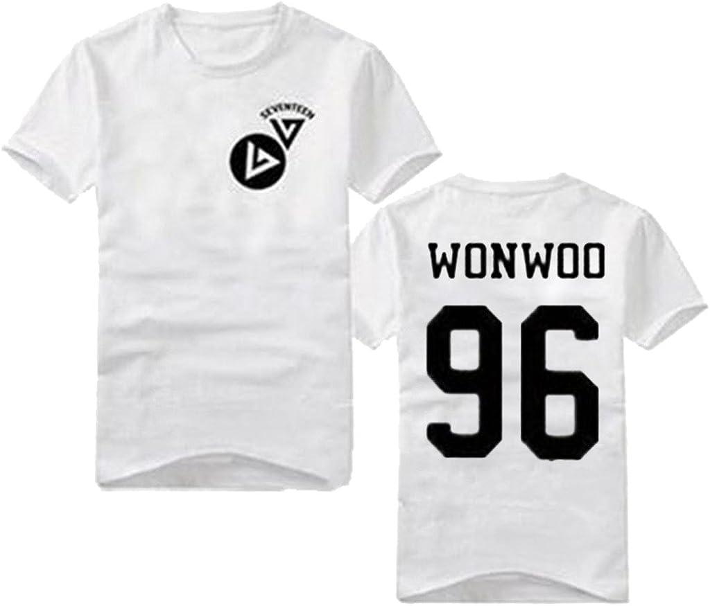 babyhealthy Kpop New item Seventeen 17 T-Shirt Max 75% OFF Vernon Dino Jun Josh Hoshi
