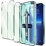 """LK 3 Pezzi Compatibile con iPhone 13 PRO Max 6.7"""" Pellicola Protettiva, 3 Pezzi Vetro Temperato, Durezza 9H, HD Schermo Pellicola, Anti-graffio Protector Pellicola, con Strumenti di Installazione"""