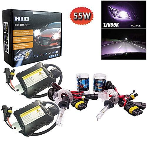 PolarLander 1 Paire CANBUS HID Xenon Kits De Voiture Phare Slim Ballast Xénon Ampoule Ballast Conversion H1 Couleur Température 12000 K