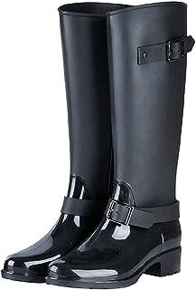 comprar comparacion TQGOLD® Botas de Agua Mujer Niña Botas de Lluvia Altas Impermeable Wellington Boots