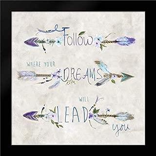 Boho Arrow Dreams Framed Art Print by Dunlap, Marilyn