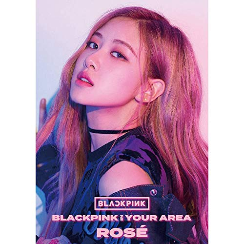 Youyouchard KPOP Blackpink - Álbum de Fotos (40,6 x 30 cm), diseño con Texto en inglés Blackpink in Your Area, Color Negro y Rosa, 05