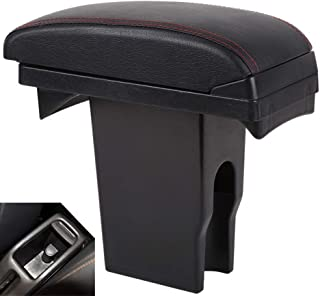 SZSS-CAR Leather Car Center Console Armrest Box for Peugeot 301 2008 / Citroen C3-XR Elysee 2016 2017 2018 Armrests with USB Ports