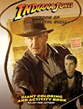 Indiana Jones and the Kingdom of the Crystal Skull Giant Coloring Book 1 - Ready for Action