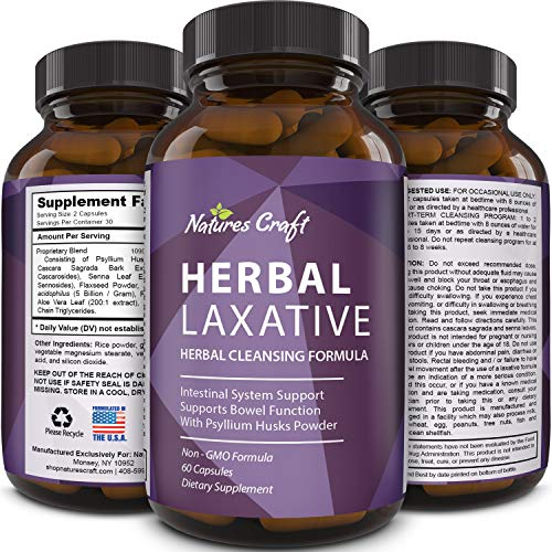 Colon Cleanser & Detox for Weight Loss - Natural Laxative and Probiotic Weight Loss Supplement with Psyllium Husk Powder Flax Seed and Digestive Enzymes for 3 Day Cleanse and Constipation Relief