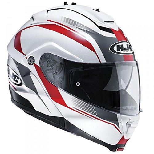 HJC IS MAX II ELEMENTS MC1SF - Casco para moto, IS-MAX 2 ELEMENTS MC1SF, rojo