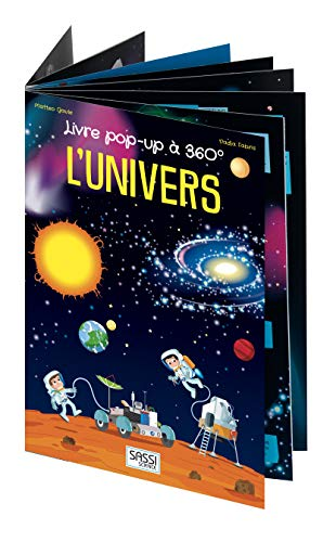 Livre pop-up à 360° - L'univers