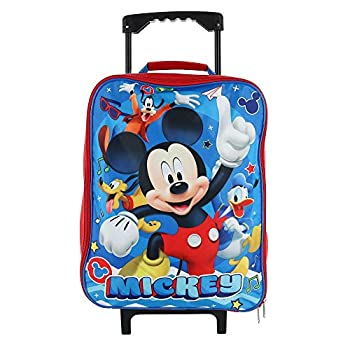 Junior Mickey And The Roadster Racers 15  Collapsible Wheeled Pilot Case