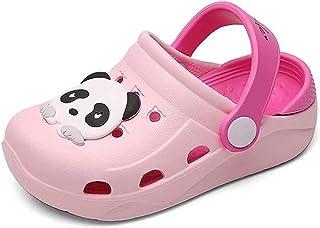 Mixte Enfant Mules et Sabots Été Sandales de Plage à Enfiler Chaussures Antidérapant Pantoufles Clog Chaussons pour Fille ...