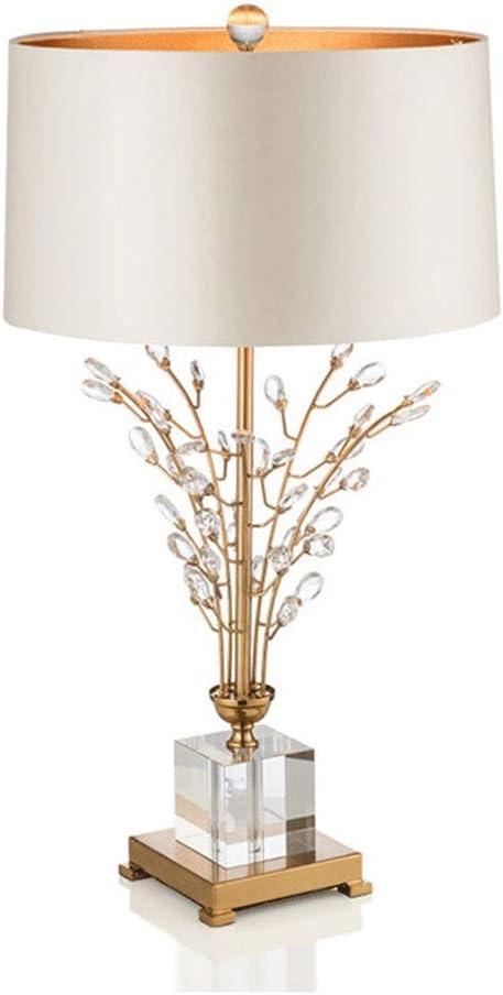 Jzhi Bowose Regular discount outlet Lamp Modern Luxury E27 Light Table Crystal Crea