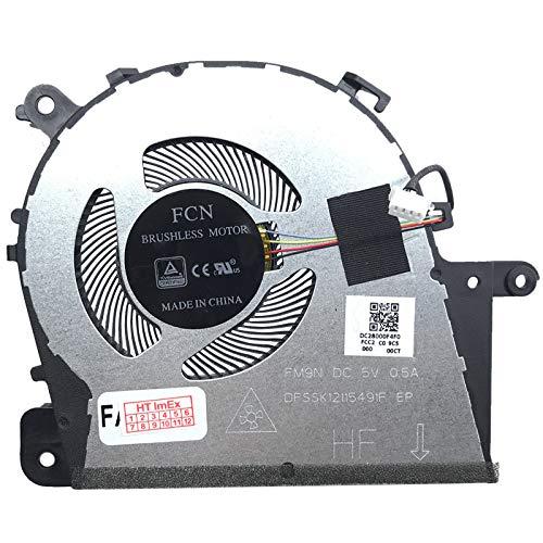 Ventola di raffreddamento compatibile per Lenovo IdeaPad S145-14IKB, S145-14IKB (81VB), S145-14IWL, S145-14IWL (81MU), S145-14IIL (81W6) m, S145-14IWL (81MU00FDGE)