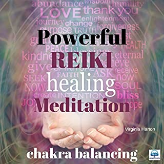 Powerful Reiki Healing Meditation: Chakra Cleansing audiobook cover art