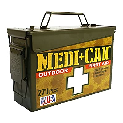 Be Smart Get Prepared 270Piece Medi+Can First Aid & Advance Wound Care Kit (Packaging may vary)