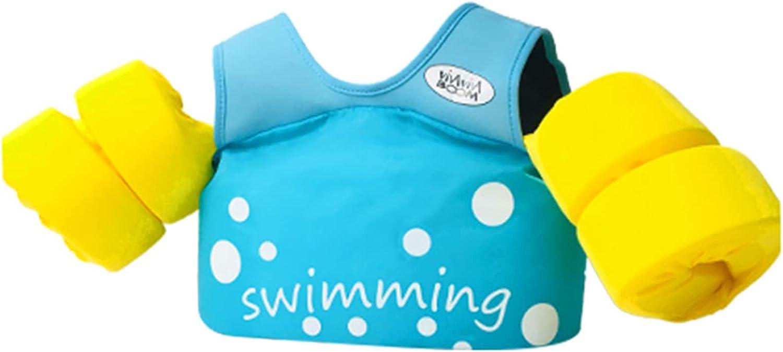 ONE-KJWH Children's Swimming Vest, Buoyancy Assisted Swimming Le