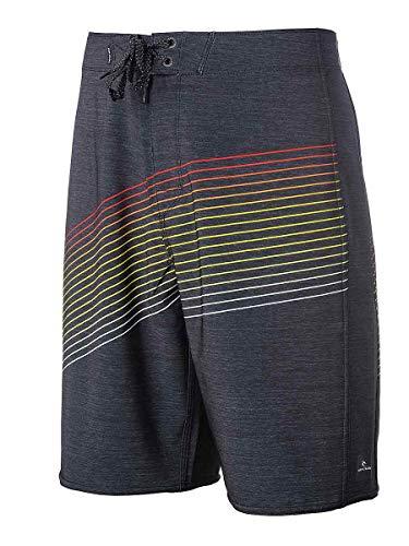 RIP CURL,Mirage Invert 21'',Hombre,Boardshort,Surf-Boardshort,Pantalones,Lazada, de Secado rápido,Black,30