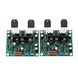 Nobsound 2 piezas/1Set MX50 se Potencia de Amplificador KIT Dual Channel 100W + 100W para Hifi amplificador-KIT de bricolaje