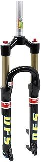 DFS air fork RLC(DUAL AIR) 26er 27.5er suspension mountain fork bicycle MTB fork smart lock out damping adjust 100mm travel Black