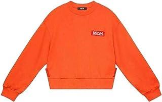MCM Women's Tangerine Tang Resnick Sweatshirt MFA9ARA30OI00