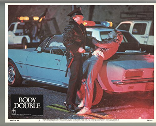 MOVIE POSTER: Body Double-Craig Wasson-Color-Lobby Card-11x14